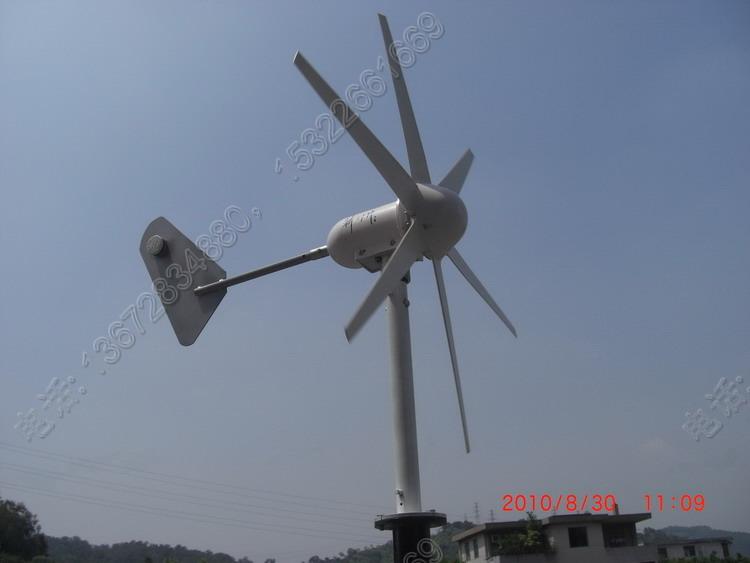 产品说明:300w风力发电机