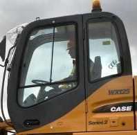 凯斯125挖掘机驾驶室