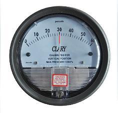 膜盒微压差表K200,指针差压表