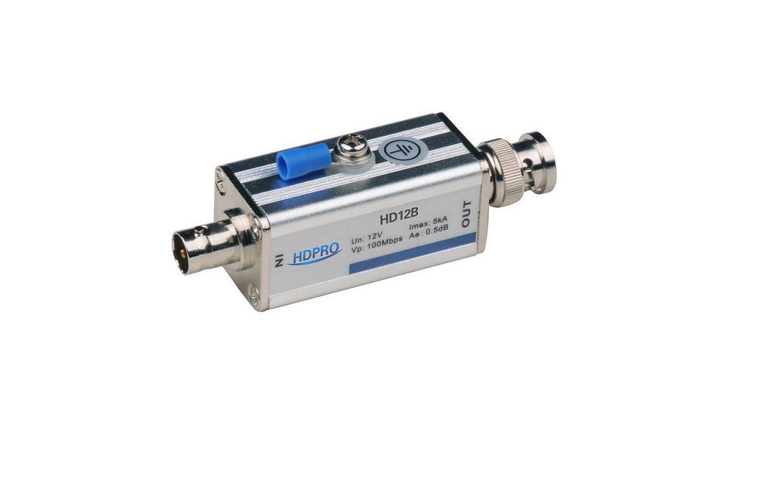 监控系统视频同轴电缆信号防雷器