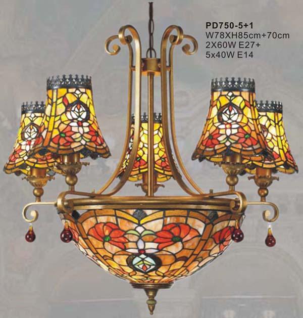 蒂凡尼欧式灯,铁艺灯