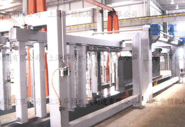 蒸压加气混凝土设备空翻切割机多少钱一套?