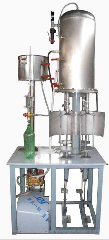 汽水混合灌装组合机