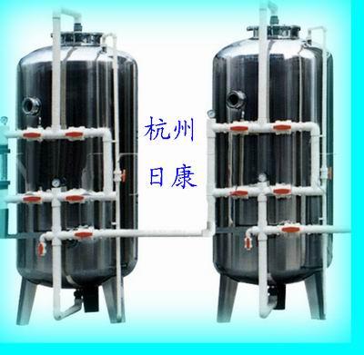 衢州20吨不锈钢锰砂过滤器,除铁锰可达到国家饮用水标准