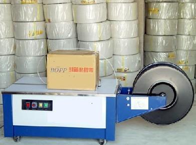 2012价格最低武汉半自动低台打包机设备