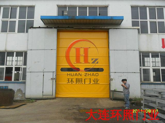 工业提升门 工业垂直上移门 工业自动感应门