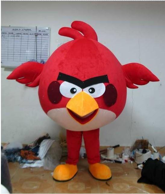 游戏人偶卡通服装,卡通服饰,愤怒的小鸟