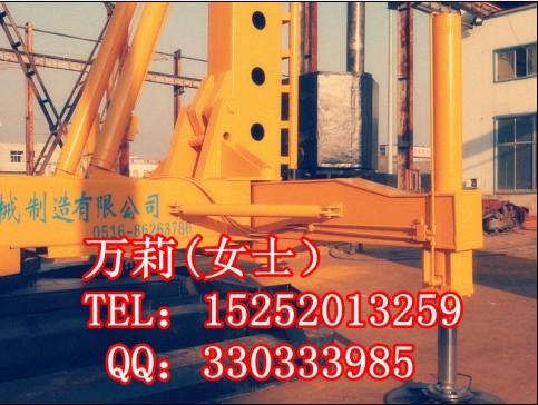 长螺旋钻机柴油锤打桩机两用桩机打CFG桩钻孔机预制管桩机报价价图
