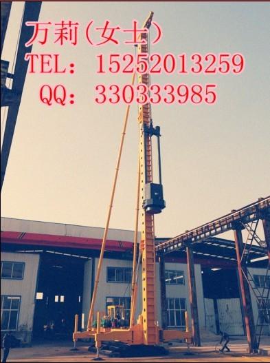 供柴油锤桩机预制管桩打桩机柴油锤桩架锤击多用打桩机报价技术参数图