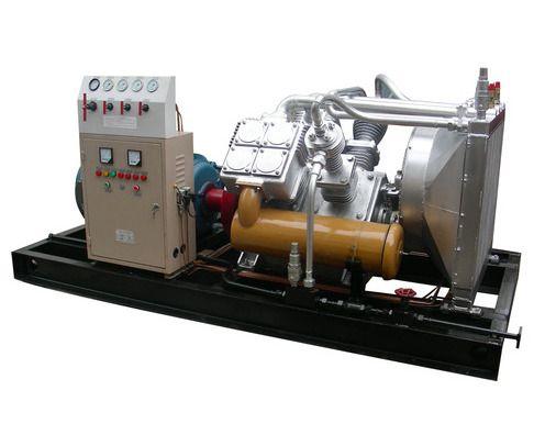 1.5立方250公斤压力耐压试验大型高压空气压缩机