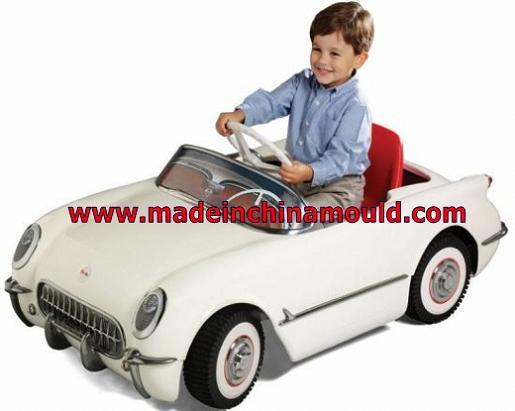 塑料电动玩具车模具儿童摇摆车模具价格童车模具
