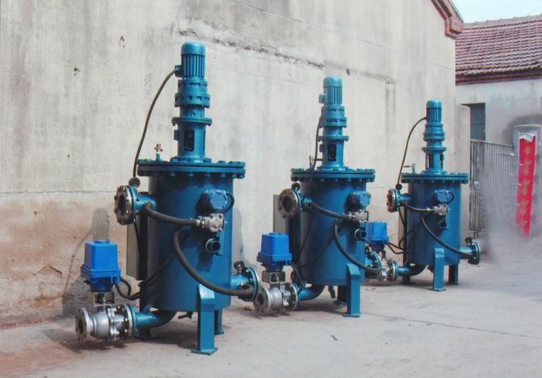 手动滤水器,旋转反冲式工业滤水器,旋转反冲式滤水器