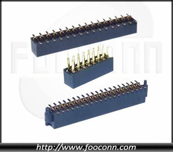 1.27间距 SMT 排母|1.27间距 180度插板 排母