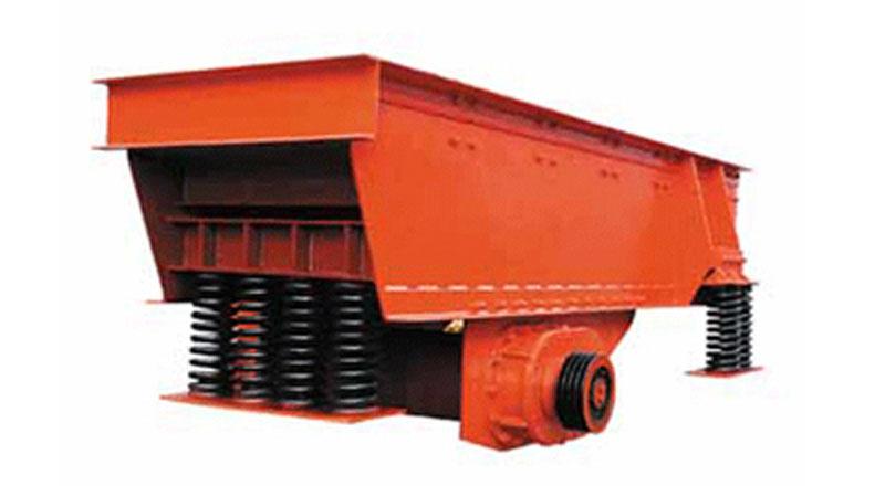 卖钢板结构磨料筛分机械 班铜矿振动喂料产品 给料机功率