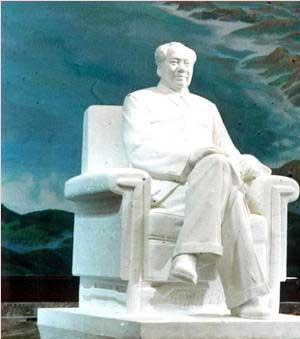 毛泽东雕像石雕毛主席站坐半身像;寿星白求恩孔子校园雕塑等人物雕像