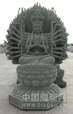 石雕观音菩萨,释迦摩尼罗汉佛像,等佛神雕像;寺庙宗教石雕系列