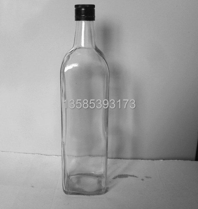 1000ml橄榄油瓶新款橄榄油瓶方形橄榄油瓶,圆形橄榄油瓶