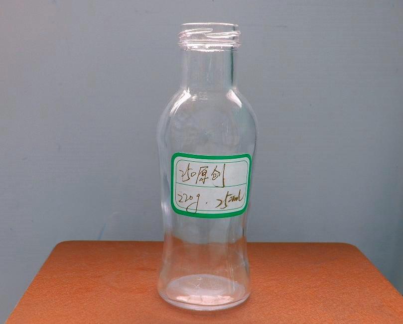 耐高温玻璃饮料瓶200ml250ml饮料玻璃瓶