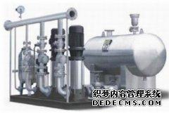 无负压变频供水系统
