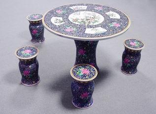 景德镇厂家直销瓷桌景德镇陶瓷瓷桌青花陶瓷瓷桌居家用品园林用品
