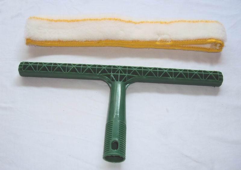 供应涂水器T架,黑色T架,玻璃清洁毛头,黄色毛套,毛套T架