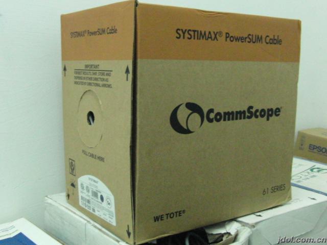 康普CommScope 超五类非屏蔽网线