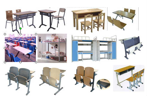 课桌椅,餐桌椅,教学排椅,学生床