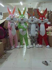 兔八哥卡通服装,卡通人偶,卡通道具服装