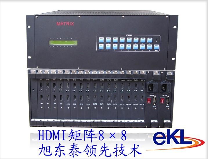 HDMI矩阵八进八出,HDMI矩阵切换器