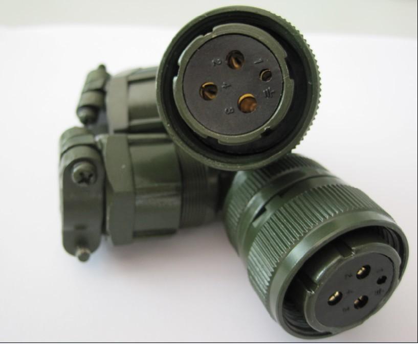 航空插头,航空连接器,军规插头YD28K4TS插头,伺服电机插头
