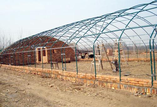 防水大棚骨架,温室材料,大棚支架机厂家
