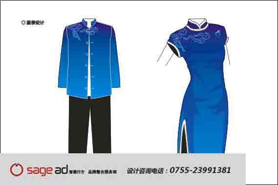 服装VI应用/童装专卖店设计/版式VI设计/点在服装设计中的设计图片