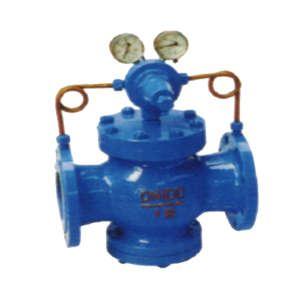 铸钢高压气体减压阀,压缩空气减压阀,yk43h减压阀图片