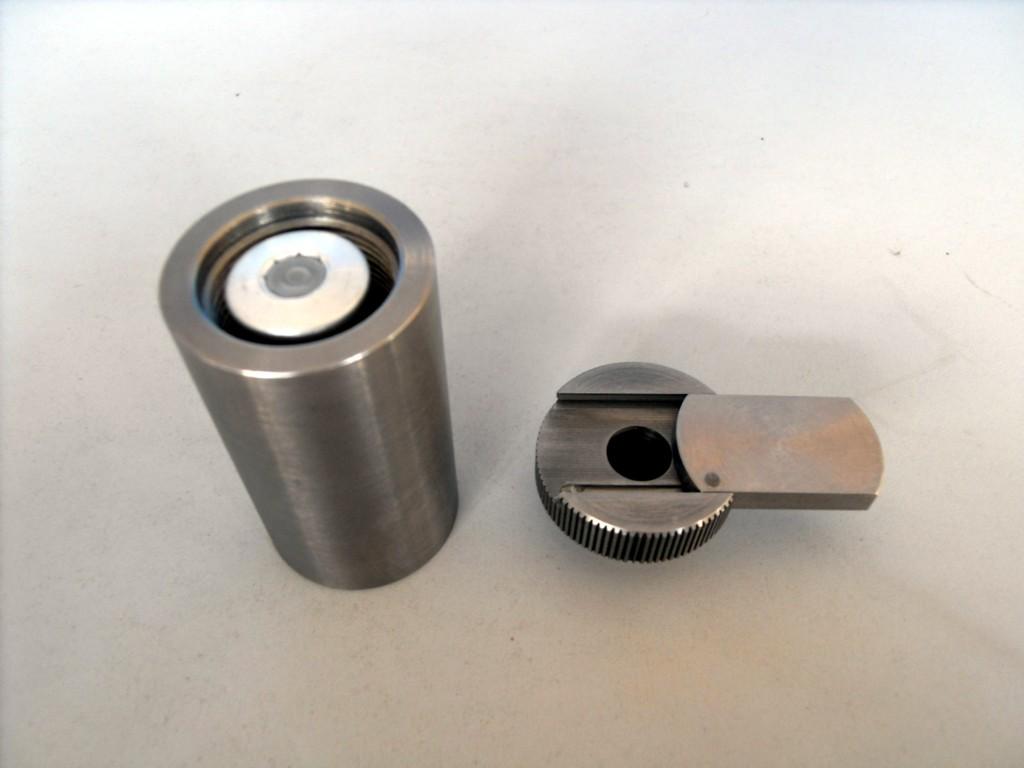 钨合金防辐射屏蔽罐