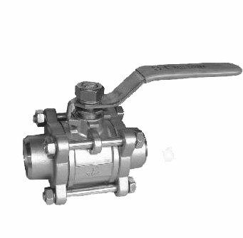 进口高压对焊球阀—KARL高压对焊球阀
