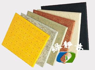 深圳环保防火9mm纤维隔音板颜色可选