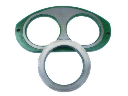 混凝土泵车配件眼镜板切割环