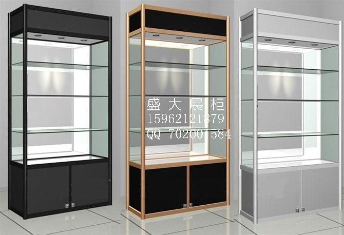 柜台展柜 玻璃展柜 展柜展架 钛合金展柜 饰品展柜