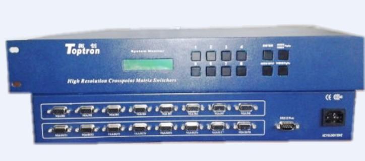 VGA矩阵切换器,AV矩阵切换器,RGB矩阵,视频矩阵,DVI矩