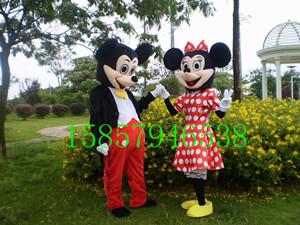 迪士尼卡通服装 卡通玩具服装 庆典卡通服饰 米奇米尼