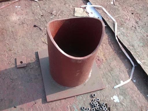 焊接固定支座
