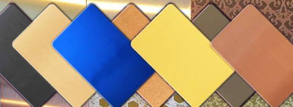 佛山彩色专业不锈钢恒诚信钛金板/玫瑰金板-广东佛山专业钛金板