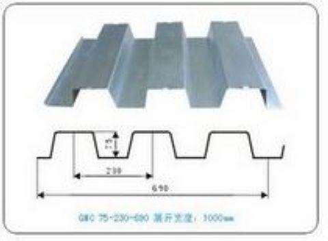 YX690型楼承板、压型钢板厂家【0551-6316098】
