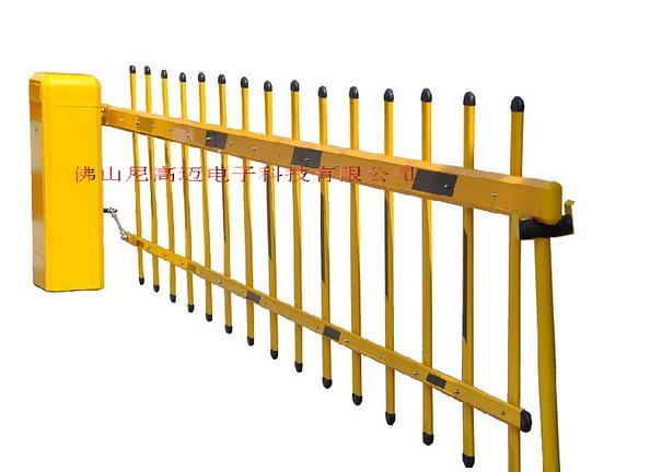 单层栏栅道闸-尼高迈双栏杆自动挡车器-小区停车场升降道闸