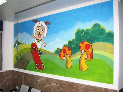 幼儿园墙体彩绘价格