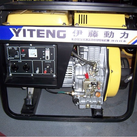 出售开架式小型柴油发电机|3KW电启动柴油发电机