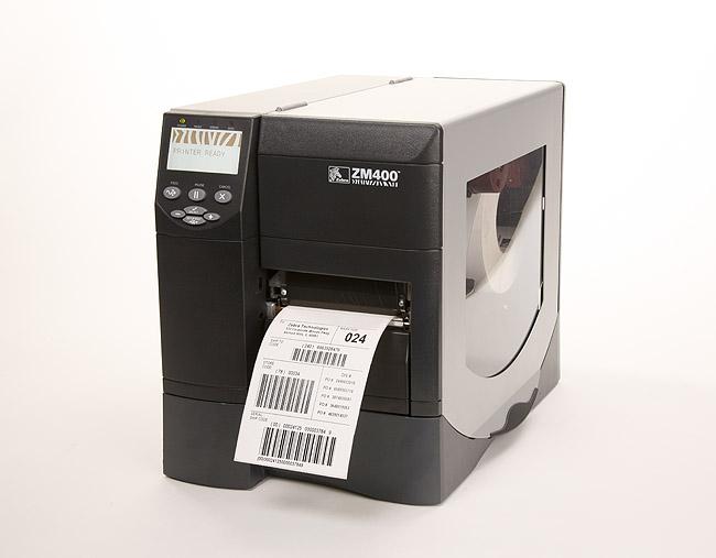 福建厦门斑马ZM400 203DPI 工业型条码打印机特价出售