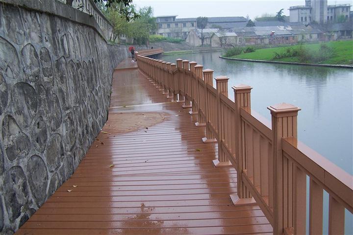 户外防腐塑木栏杆