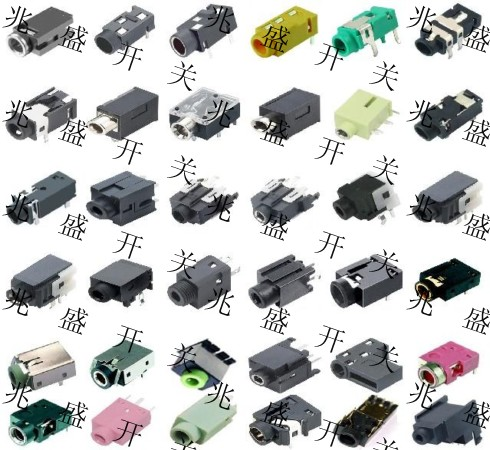 耳机插座电路/耳机插座结构/耳机插座内部结构/耳机插座原理图