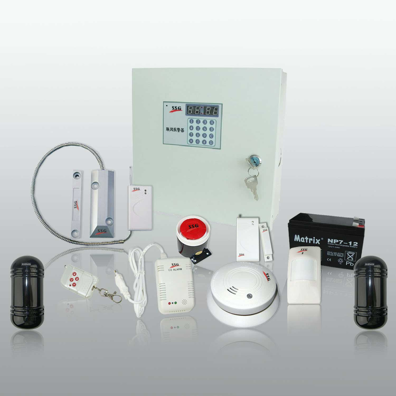 住宅电子防盗器 电话报警设备 防盗器厂家